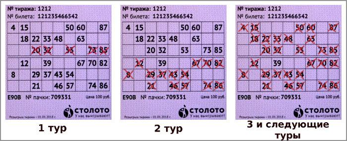 Правила игры в Русское лото